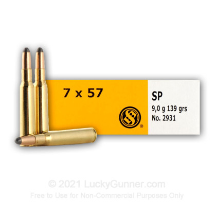 Image 7 of Sellier & Bellot 7x57 Mauser Ammo