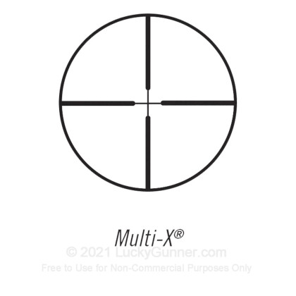 Large image of Bushnell Banner Rifle Scope - 3-9x - 40mm - Multi-X (Duplex) Reticle - 713948 - Black Matte - In Stock - Luckygunner.com
