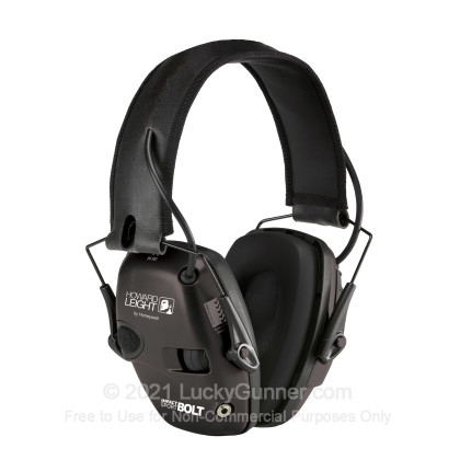 Large image of Howard Leight Electronic Earmuffs For Sale - 22 NRR - Howard Leight Hearing Protection in Stock
