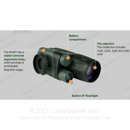 Large image of Night Vision Monocular For Sale - Yukon 24207 Night Vision Monocular in Stock