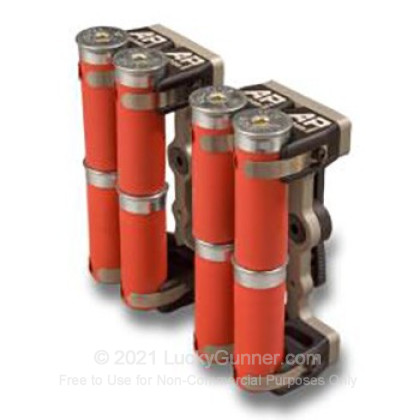 Large image of 12-Gauge Shotgun Shell Carrier AP Custom QL/8 Aluminum Black For Sale