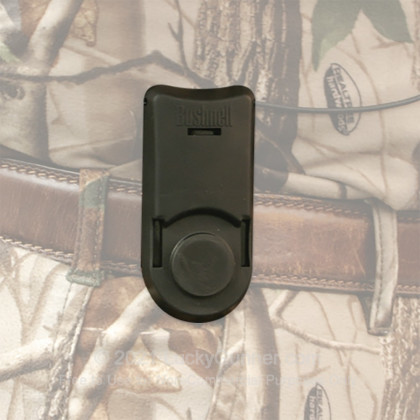 Large image of Bushnell Magnetic Attachment System for Rangefinders - Uses Tripod Mount - Clips to Belts - 203122 - Black - In Stock - Luckygunner.com