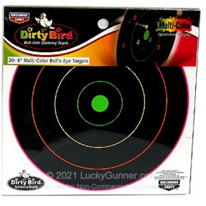 Large image of Dirty Bird Multi-Color Targets For Sale - Dirty Bird Target Kit - Birchwood Casey Targets For Sale