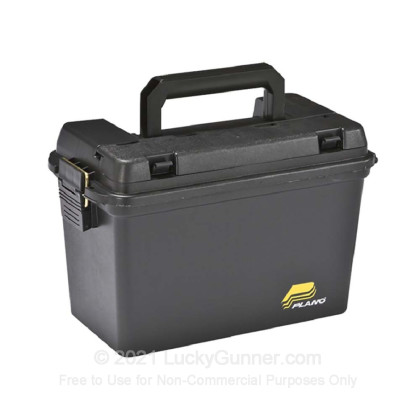 Large image of Plano Field Box Black Pastic Ammo Cans For Sale