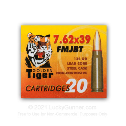 Image 2 of Golden Tiger 7.62X39 Ammo