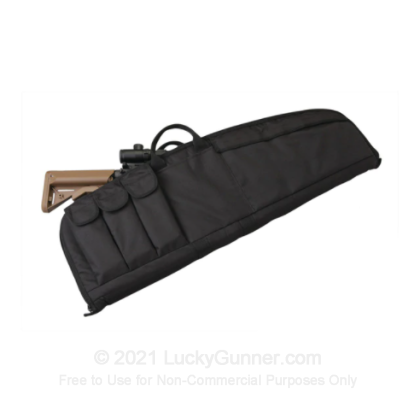 Large image of Tactical Rifle Case - Uncle Mike's - Black