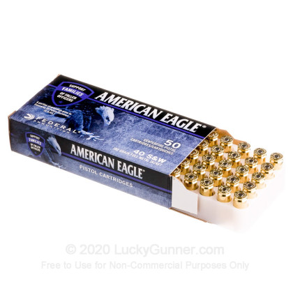 Image 3 of Federal .40 S&W (Smith & Wesson) Ammo
