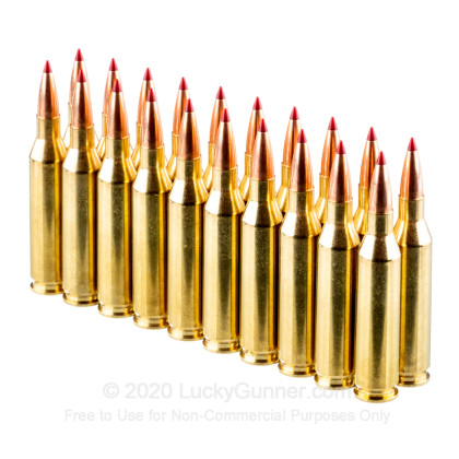 Large image of Premium 243 Ammo For Sale - 90 Grain ELD-X Ammunition in Stock by Hornady Precision Hunter - 20 Rounds