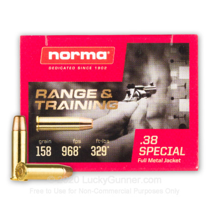 Image 1 of Norma .38 Special Ammo