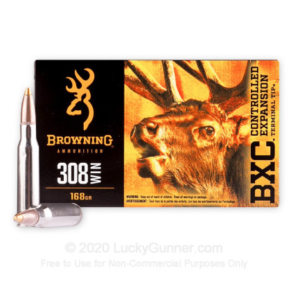 Image 1 of Browning .308 (7.62X51) Ammo