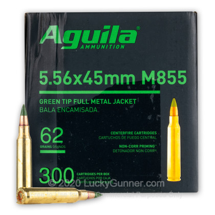 Image 1 of Aguila 5.56x45mm Ammo