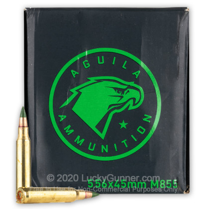 Image 2 of Aguila 5.56x45mm Ammo