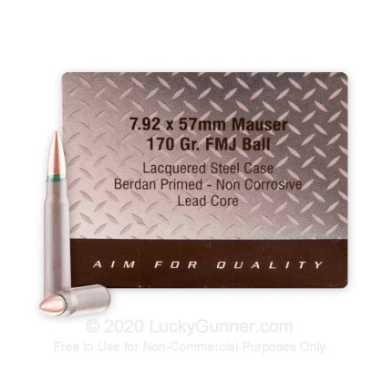 Image 2 of PW Arms 8mm Mauser (8x57mm JS) Ammo