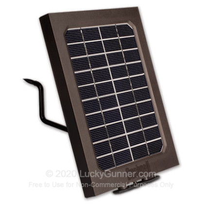 Large image of Bushnell Trophy HD Solar Panel (119656C) For Sale Online
