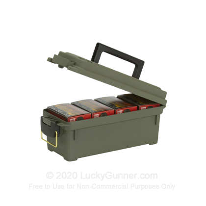 Large image of Plano Ammo Can Shot Shell Box Olive Green Brand New For Sale