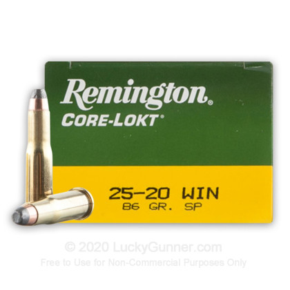 Image 1 of Remington .25-20 WINCHESTER Ammo