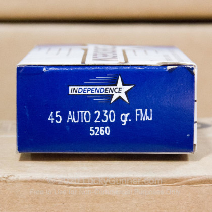Image 1 of Independence .45 ACP (Auto) Ammo