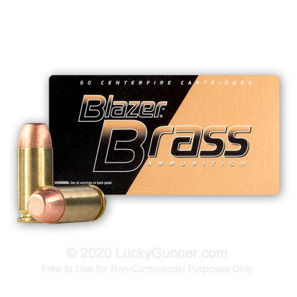Image 2 of Blazer Brass .40 S&W (Smith & Wesson) Ammo