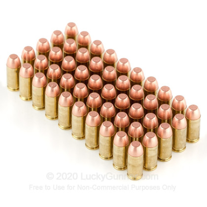 Image 4 of Blazer Brass .40 S&W (Smith & Wesson) Ammo
