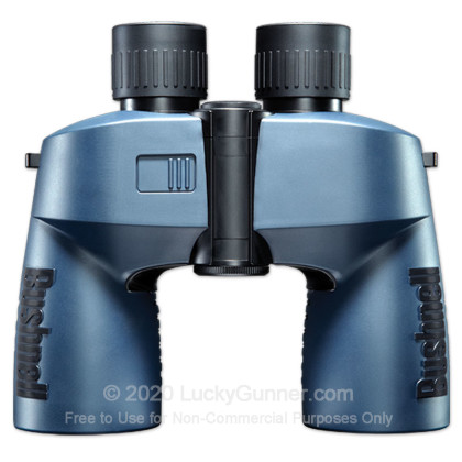 Large image of Bushnell Marine Binoculars - Digital Compass - 7x Magnification - 50mm Objective - Ranging Reticle - Navy - In Stock - Luckygunner.com