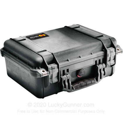 Large image of Pelican 1450 Medium Pistol Case For Sale - Black