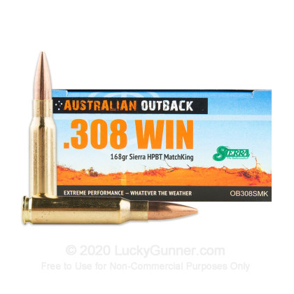 Image 1 of Australian Outback .308 (7.62X51) Ammo