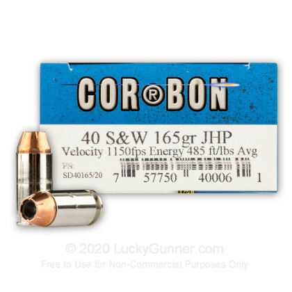 Image 1 of Corbon .40 S&W (Smith & Wesson) Ammo