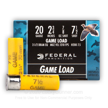 Image 8 of Federal 20 Gauge Ammo