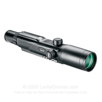 Large image of Bushnell Yardage Pro Rifle Scope and Rangefinder for Sale - 4-12x - 42mm - 204124 - Black Matte - In Stock at Luckygunner.com