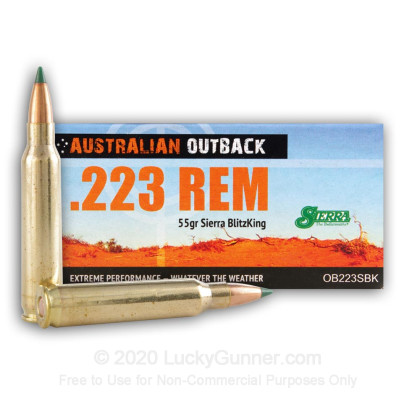 Image 1 of Australian Outback .223 Remington Ammo