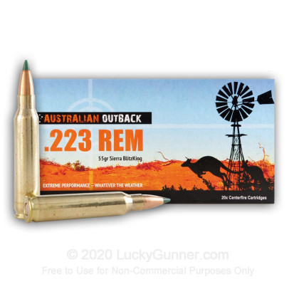 Image 2 of Australian Outback .223 Remington Ammo