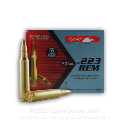 Image 2 of Aguila .223 Remington Ammo