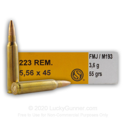 Image 2 of Sellier & Bellot 5.56x45mm Ammo