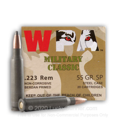 Image 1 of Wolf .223 Remington Ammo