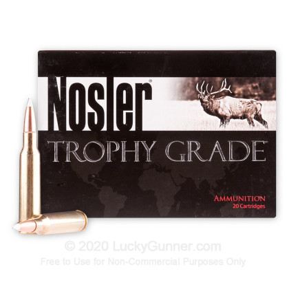 Image 2 of Nosler Ammunition 6.5x55 Swedish Ammo