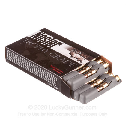 Image 3 of Nosler Ammunition 6.5x55 Swedish Ammo