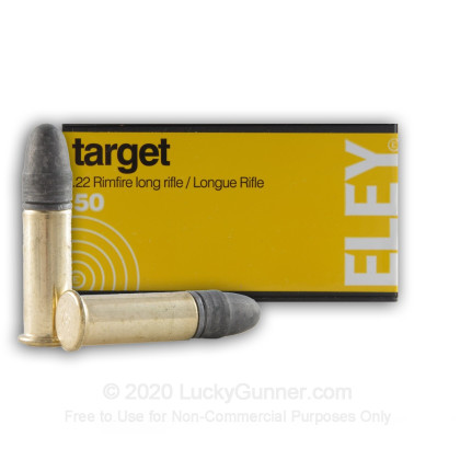 Image 1 of Eley .22 Long Rifle (LR) Ammo