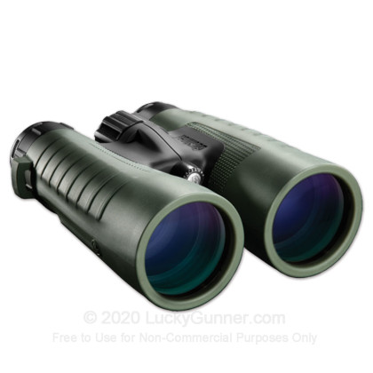 Large image of Bushnell Trophy XLT Binoculars for Sale - 12x - 50mm - 235012 - Black Rubber - In Stock - Luckygunner.com