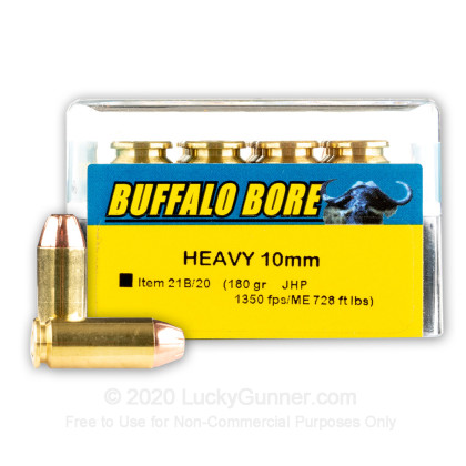 Image 1 of Buffalo Bore 10mm Auto Ammo