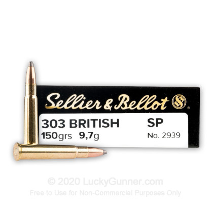 Image 1 of Sellier & Bellot .303 British Ammo