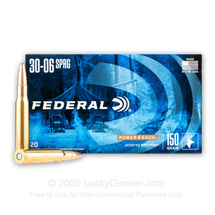 Image 2 of Federal .30-06 Ammo