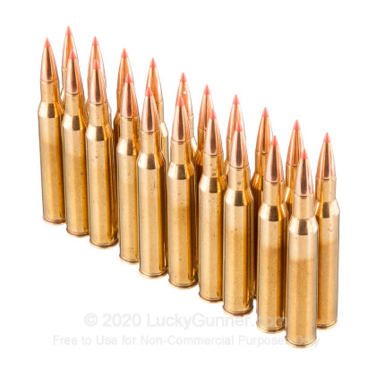 Large image of Premium270 Ammo For Sale - 130 Grain Hornady GMX Ammunition in Stock by Black Hills Gold - 20 Rounds