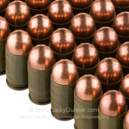 Large image of Cheap 9mm Makarov (9x18mm) Ammo For Sale - 94 gr FMJ Brown Bear Ammunition For Sale - 50 Rounds