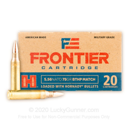 Image 2 of Hornady 5.56x45mm Ammo