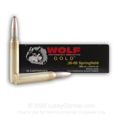Image 2 of Wolf .30-06 Ammo