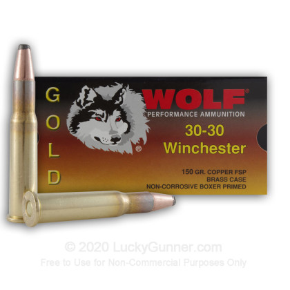 Image 1 of Wolf .30-30 Winchester Ammo