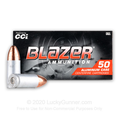 Image 2 of Blazer 9mm Luger (9x19) Ammo