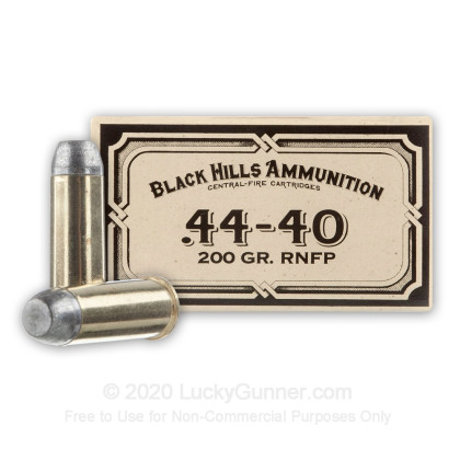Image 1 of Black Hills Ammunition .44-40 WCF Ammo