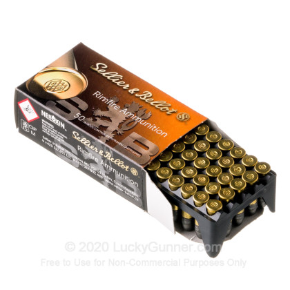 Image 3 of Sellier & Bellot .22 Long Rifle (LR) Ammo