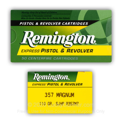 Image 1 of Remington .357 Magnum Ammo